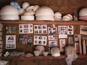 stages de poterie : le coin des stagiaires